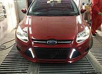 Ходовые огни Ford Focus 2012- V2, фото 1
