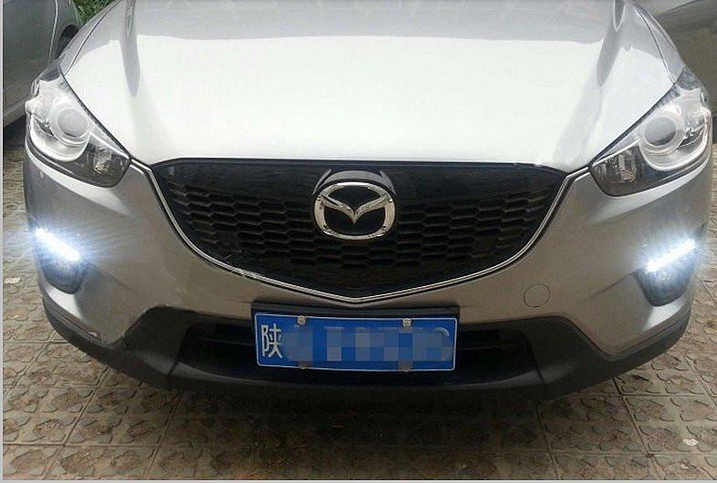 Ходовые огни Mazda CX-5 black 2012-