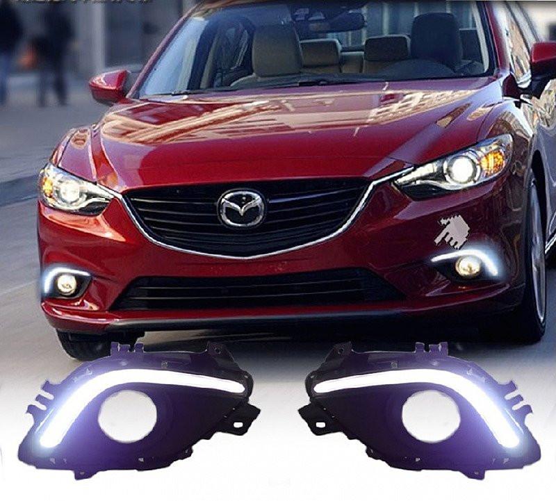Ходовые огни Mazda M6 2013-