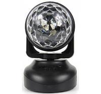 Обертовий LED проектор для дискотеки Led Beam Moving Head, фото 1
