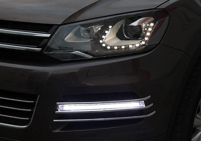Ходовые огни VW Touareg 2010- V2