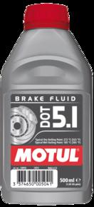 MOTUL DOT 5.1 Brake Fluid 0.5л.