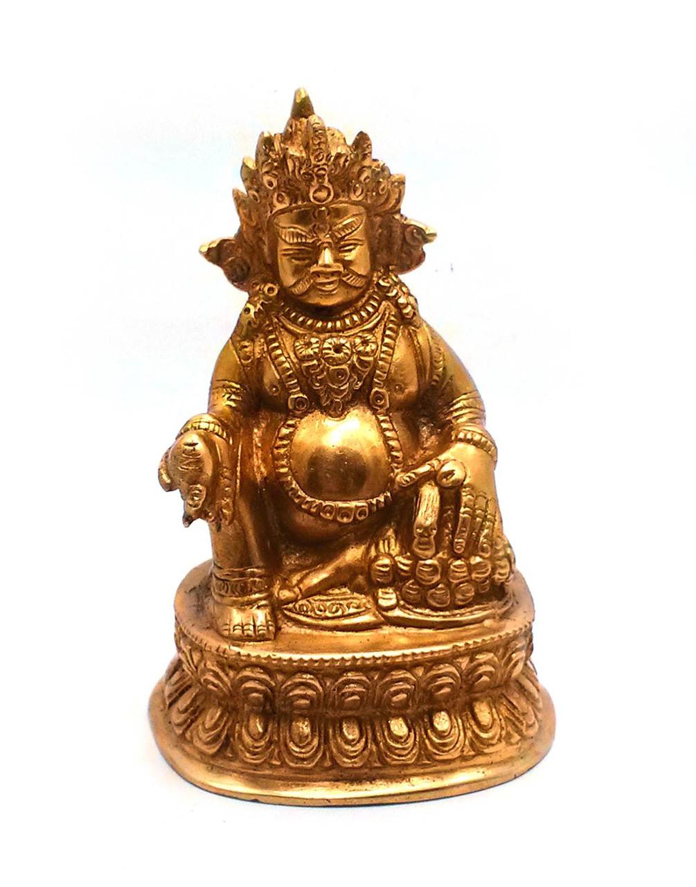 Статуэтка из бронзы Кубера