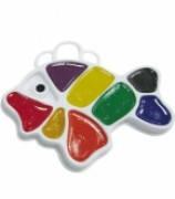 """Акварель медова """"Рибка"""" Промінь 8 кольорів"""