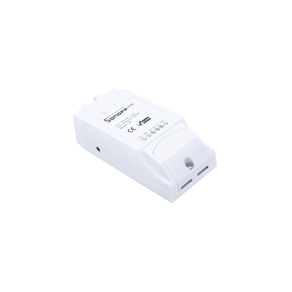 WiFi умный выключатель Sonoff Dual (двухканальный)