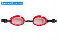 Intex 55608-K, детские очки для плавания, красные