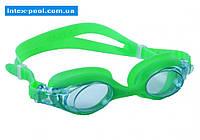 Intex 55693-Z, детские очки для плавания, зеленые