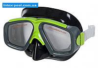 Intex 55975-Zh, маска для плавания, серо-желтые