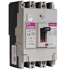 Автоматические выключатели ETIBREAK EB2S 160 (16-250A)