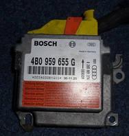 Блок управления AIRBAG Audi A6 C5 1997-2004 Bosch 4B0959655G / 0285001274