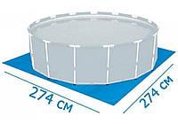 Bestway 58000, подстилка для бассейнов, 70 г/м2, 274х274см
