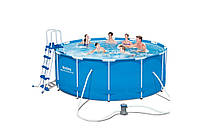 Bestway 56420, каркасный бассейн Steel Pro Frame Pool, фото 1