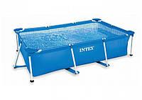 Intex 28272, каркасный бассейн Rectangular Frame Pool, фото 1