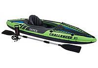 Intex 68305, надувная лодка-байдарка CHALLENGER K1 KAYAK, фото 1