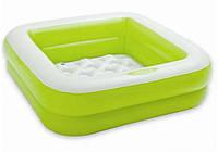 """Intex 57100, надувной детский бассейн """"Зеленый"""", фото 1"""