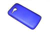 Пластиковый чехол для Huawei Ascend Y600-U20 DualSim синий, фото 1