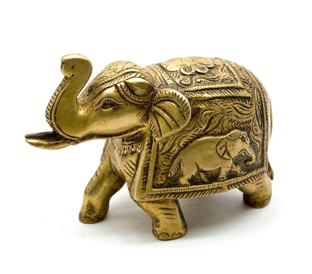 Статуэтка из бронзы Слон