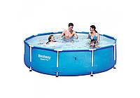 Bestway 56406, каркасный бассейн Steel Pro Frame Pool (Intex 28200)