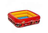Intex 57101, надувной детский бассейн Тачки