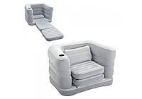 Bestway 75065, надувное кресло, серое