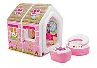Intex 48635, детский игровой центр раскладной Игровой Дом Принцессы, фото 1