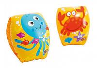 Intex 56662, надувные нарукавники для плавания Крабик, фото 1