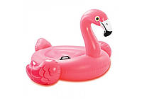 Intex 57558, надувной плотик Розовый Фламинго