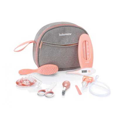 Babymoov - Набор по уходу за ребенком в органайзере, цвет персиковый