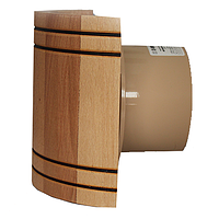 Жаростойкий вентилятор Mmotors MM-S 100 бочка (дерево)