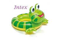 Intex 59220-F, надувной круг Лягушка, фото 1