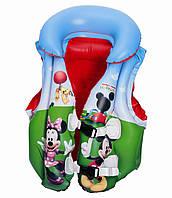 Bestway 91030, надувной жилет для плавания. Mickey Mouse, 51-46см, фото 1