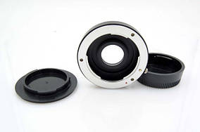 Адаптер (переходник) Pentax PK - Nikon (PK-AI) с корректирующей линзой