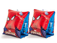 Bestway 98001, надувные нарукавники для плавания Spider-man, фото 1