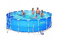Bestway 56462, каркасный бассейн Steel Pro Frame Pool, фото 1