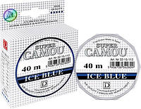 Леска Dragon Super Camou Ice Blue 40 м 0.08 мм 1.10 кг