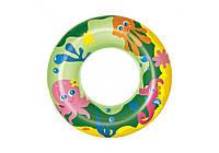 Bestway 36113-green, надувной круг Морские приключения, 51 см. Зеленый, фото 1