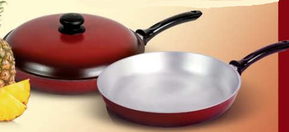 Сковорода 20 см эмалированная мелкая ЭС20мрк