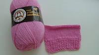 Турецкая  пряжа для вязания  Madame Tricote MERİNO GOLD 400 (мерино голд )меринос 60% шерсть 048 розовый