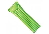 Intex 59703-green, надувной матрас для плавания. Зеленый, фото 1