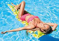 Intex 59712-green, надувной матрас для плавания. Зеленый, фото 1