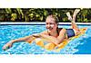 Intex 59712-orange, надувной матрас для плавания. Оранжевый