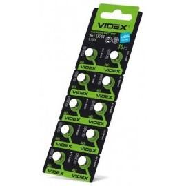 Батарейка Videx AG5 (LR754) цена за блистер