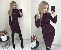 """Стильне плаття міні """"Смужка"""" Angelo Style, фото 1"""
