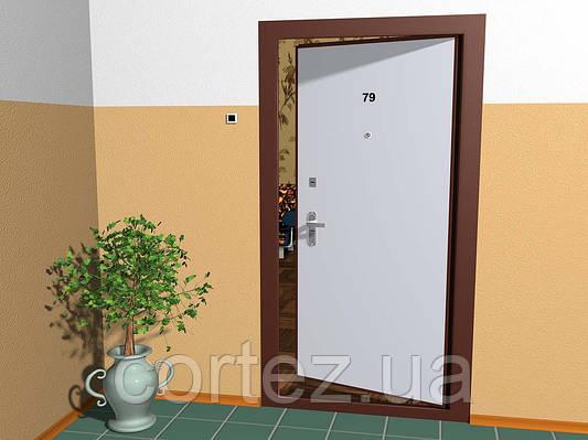 Почему входные двери открываются внутрь?