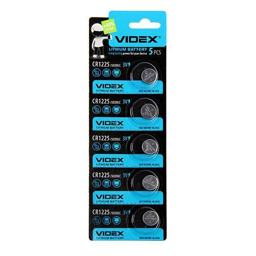 Батарейка литиевая Videx CR1225 3V