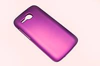 Пластиковый чехол для Huawei Ascend Y600-U20 DualSim фиолетовый, фото 1
