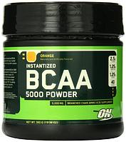 БЦАА, Optimum Nutrition, BCAA 5000 Powder Orange, 380 gram
