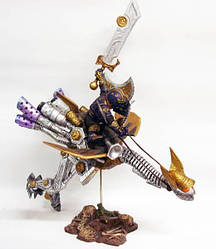 Gnome Warrior Sprocket Gyrosring - Гном воїн Пружин Гиропрыг