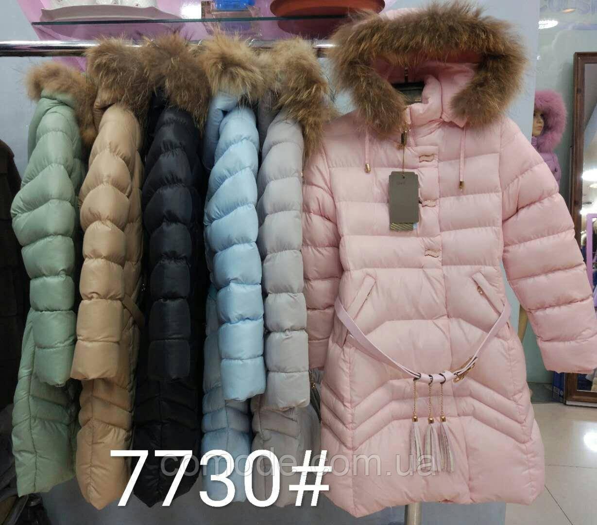 Куртка на девочку с ремешком