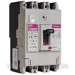 Автоматические выключатели EB2S 160/3LF 25A 3p